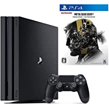 PlayStation 4 Pro ジェット・ブラック 1TB  + METAL GEAR SOLID V: GROUND ZEROES + THE PHANTOM PAIN セット