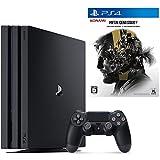 PlayStation 4 Pro ジェット・ブラック 1TB  + METAL GEAR SOLID V