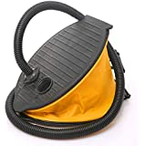 RaiFu エアーポンプ  家庭用 アウトドア フット/電動 エアーポンプ エアー ベット マットレス用 ハンドヘルド インフレータ 車 ボート おもちゃ リング 大型フットポンプ