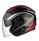 オージーケーカブト(OGK KABUTO)バイクヘルメット ジェット ASAGI CLEGANT (クレガント) フラットブラック (サイズ:M)