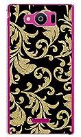 携帯電話taro au AQUOS PHONE SERIE mini SHL24 カバー/ケース (ツルクサ 金箔) エーユー アクオスフォン セリエ ミニ SHL24-TAR-1746