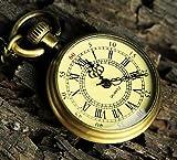 【minbako】アンティーク ネックレス 時計 小さめ 懐中時計