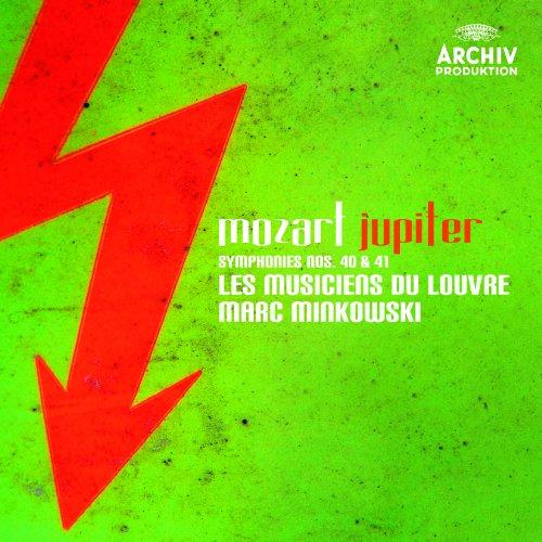 モーツァルト:交響曲第40番、第41番