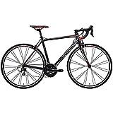 メリダ(MERIDA) ロードバイク SCULTURA 400 シルクブラック/シルバー/レッド(EKR4) AMS04508 50cm