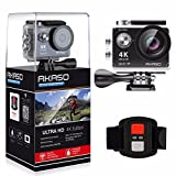 AKASO EK7000 4K WIFI スポーツ カメラ HD 1200万画素30メートル防水170度広角レンズ2インチ LCD 2.4G無線RF リモコンバイクや自転車/..