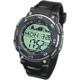 [LAD WEATHER] タイドグラフ腕時計 ムーンデータ ペースメーカー、月齢表示 釣り/サーフィン/ダイビング