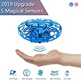 MOGOI Hand Operated Drone for Kids Toddlers Adults, UFO Mini Drones Flying Drones Induction Toys Gesture Controlled, Indoor Outdoor Fun Toys Gifts for Boys Girls Age 5 6 7 8 9 10. B