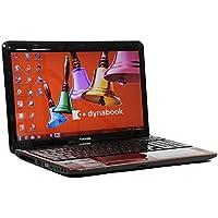 [ 中古ノートパソコン / Microsoft Office Home&Business 2010 ] 東芝 dynabook T451/46DR Windows7 15.6インチ Core i5 2430M 2.4GHz メモリ4GB HDD750GB モデナレッド [ DVDマルチドライブ / 無線LAN内蔵 ]