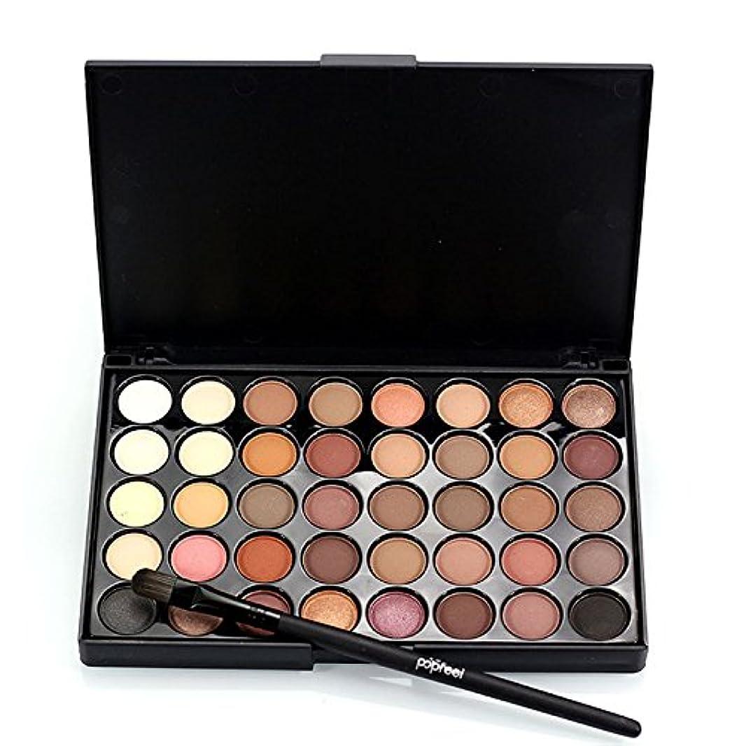 感心する発見求人1pcs Eyes Brush Eye Shadow Makeup Brushes + 40 Colors Eyeshadow Palette Natural Face Matte Camouflage Cosmetic...