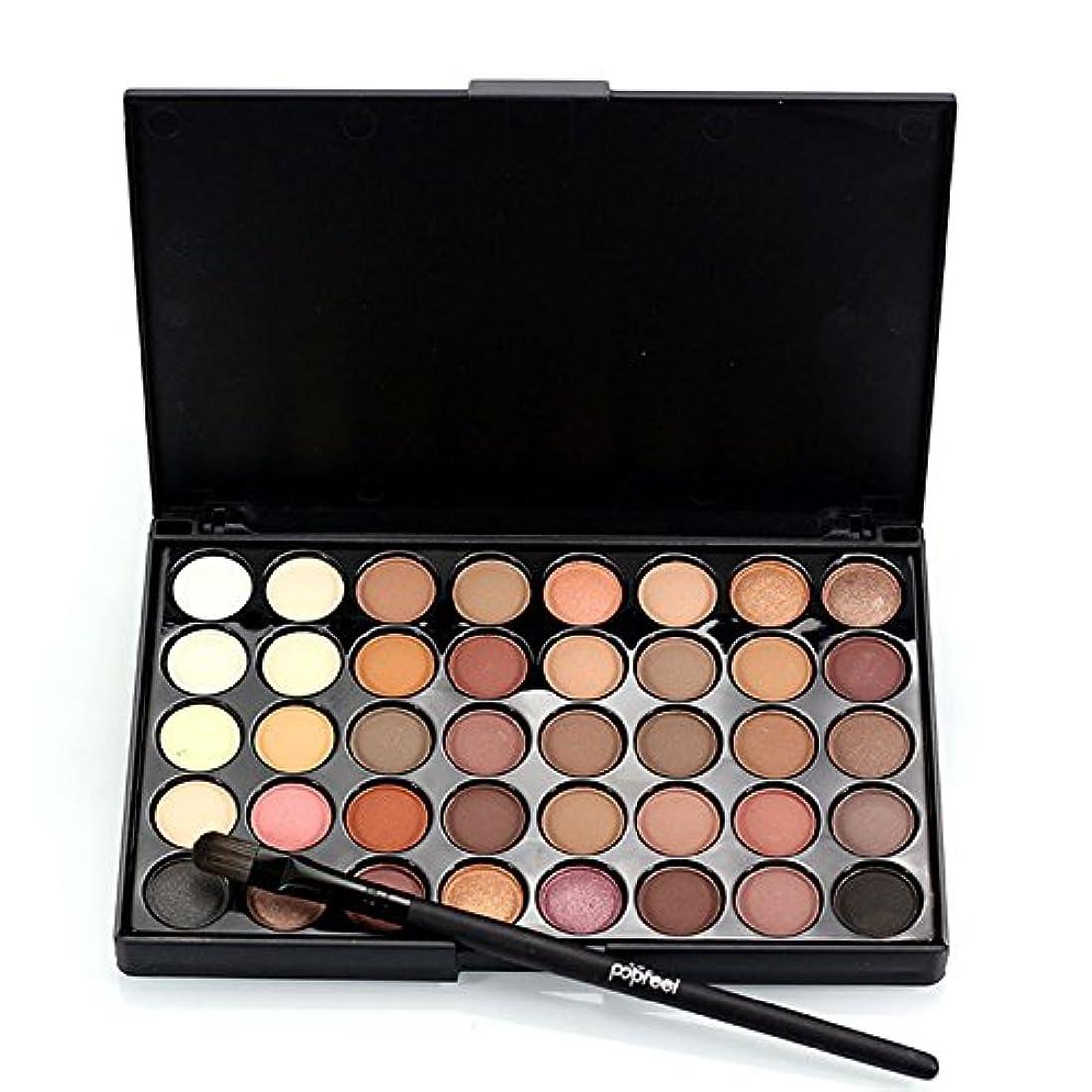校長シャーロットブロンテ車両1pcs Eyes Brush Eye Shadow Makeup Brushes + 40 Colors Eyeshadow Palette Natural Face Matte Camouflage Cosmetic...