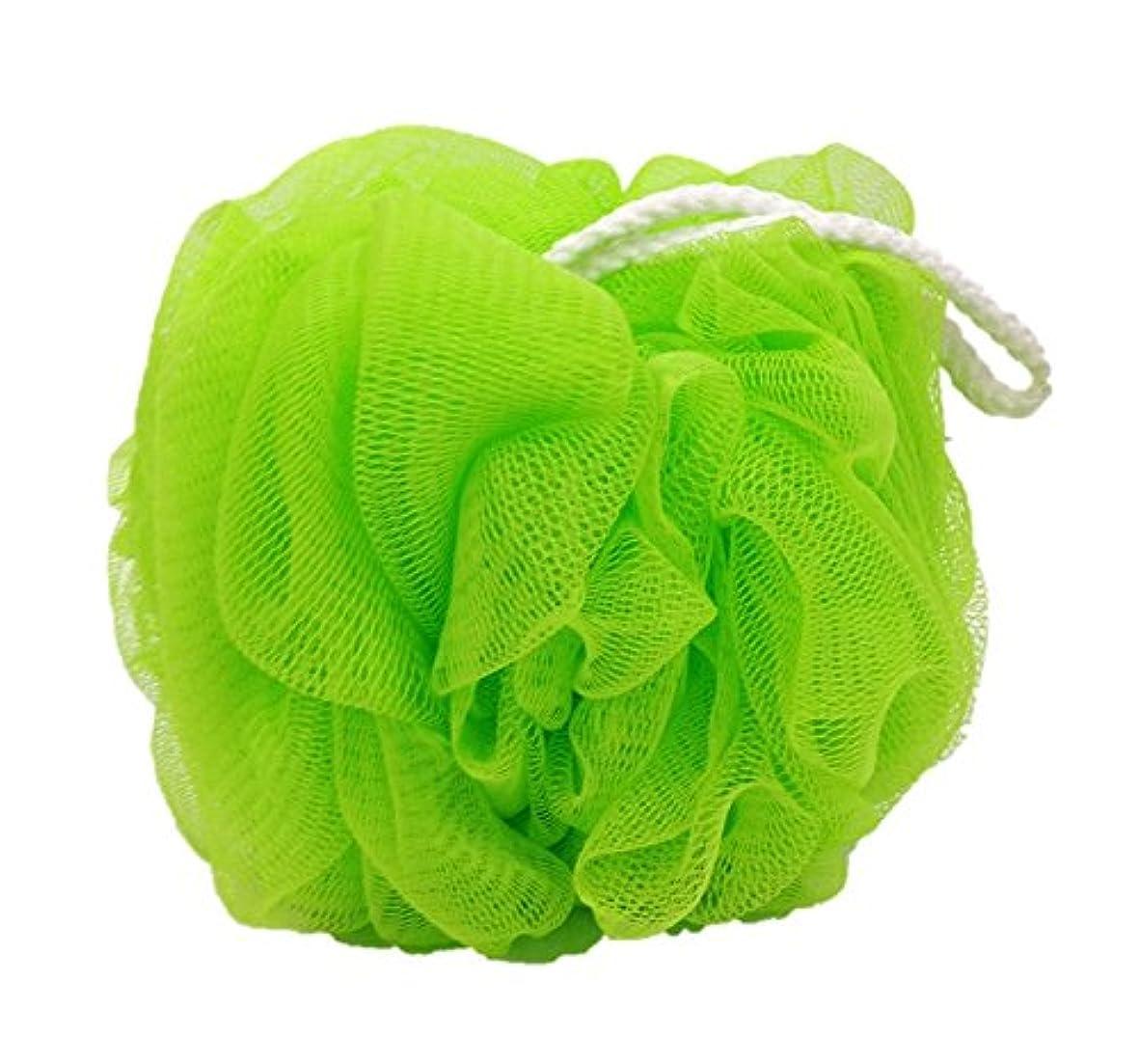 モンスター序文胚オーエ ホイッぷる ボール ふつう 泡立て ネット グリーン 約22×14×14cm もこもこ 洗える
