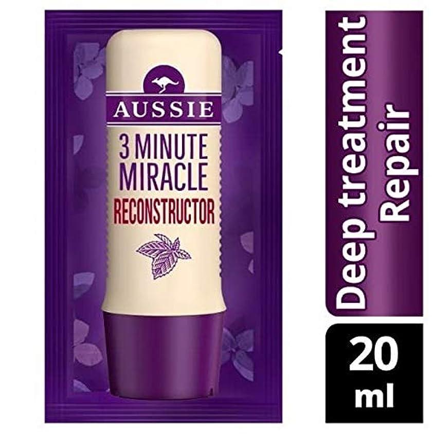 蛇行北へ考え[Aussie ] オーストラリアの深い治療3分の奇跡の再構成の20ミリリットル - Aussie Deep Treatment 3 Minute Miracle Reconstructor 20ml [並行輸入品]