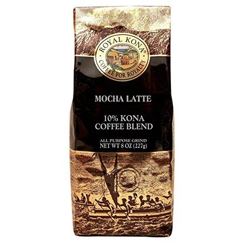 (ロイヤルコナコーヒー) モカラテ・コナブレンド 227g (粉)