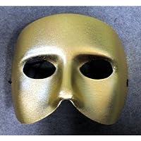ハーフマスク ゴールド