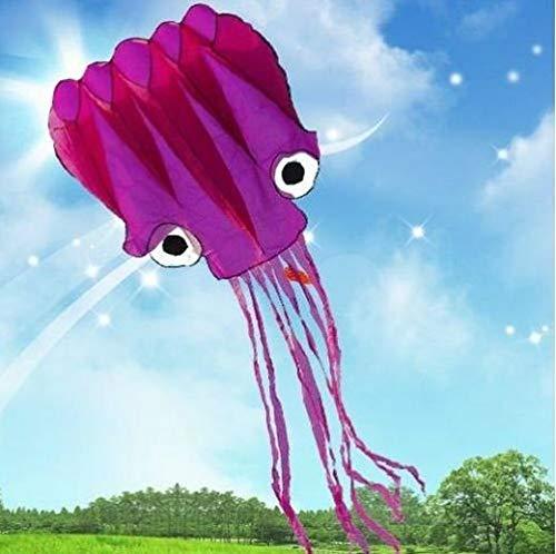5メートル長い 立体タコ凧 カイト 飛び、持ち運びやすいです。タコベストセラー