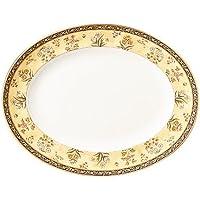 Wedgwood India 13-3/4-Inch Oval Platter 【Creative Arts】 [並行輸入品]