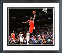 "James Harden Houston Rockets NBAアクション写真(サイズ: 18"" x 22"" )フレーム入り"