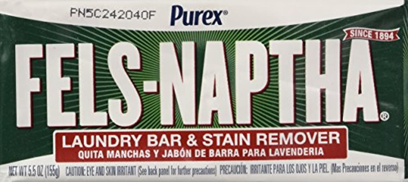 詩人治す無駄だDial Corp. 04303 Fels-Naptha Laundry Bar Soap - Pack of 4 by Dial