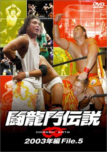 『闘龍門伝説~2003年編 File.5~ [DVD]』のトップ画像