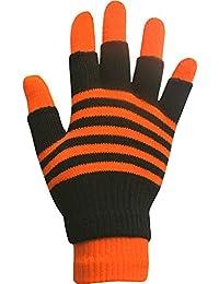 TeddyT 's Boys 'ストライプMagic 2 in 1冬手袋に指なし手袋