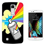 002469 - Fun Graffiti Spray Paint Design Wiko Fever 4G Gel ファッショントレンド スマートフォンケース カバー