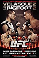 proframes UFC 160 Velasquez Vs Bigfoot 2 Antonio Silvaスポーツフレーム入りポスター12 x 18 18x12 inches