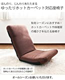 ヤマザキ ゆったりホットカーペット対応座椅子 PC300 グリーン 日本製 リクライニング 座椅子