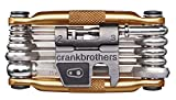 crankbrothers(クランクブラザーズ) 自転車工具セット 多機能 メンテナンス 修理ツール 携帯工具 マルチ-17 ゴールド 115301