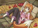 狼と香辛料 ホロ 林檎 タペストリー (布製)