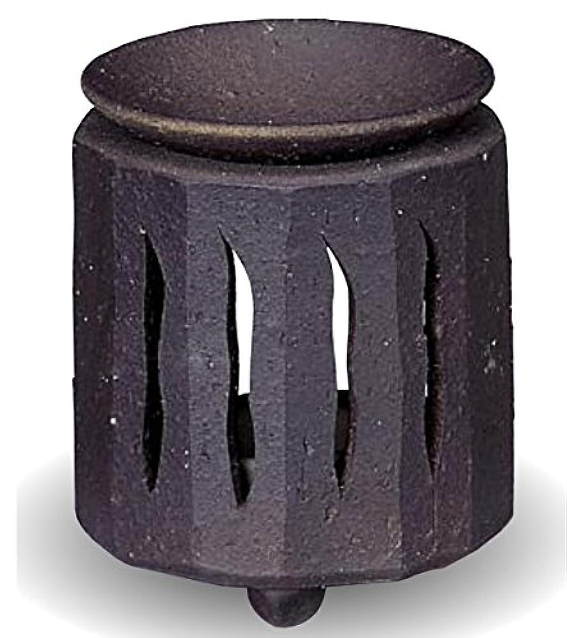 アクロバットルーフ変える常滑焼 茶香炉(アロマポット)径9×高さ11cm