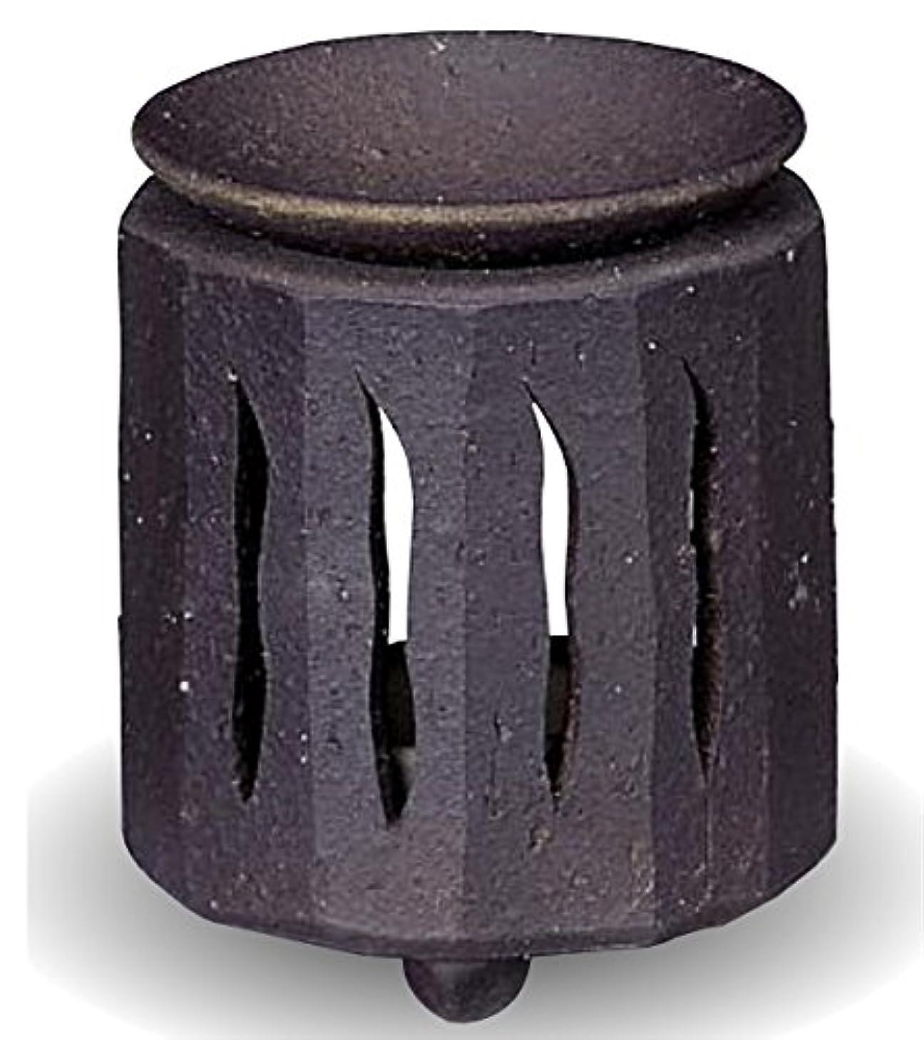 感情のクスコ輝く常滑焼 茶香炉(アロマポット)径9×高さ11cm