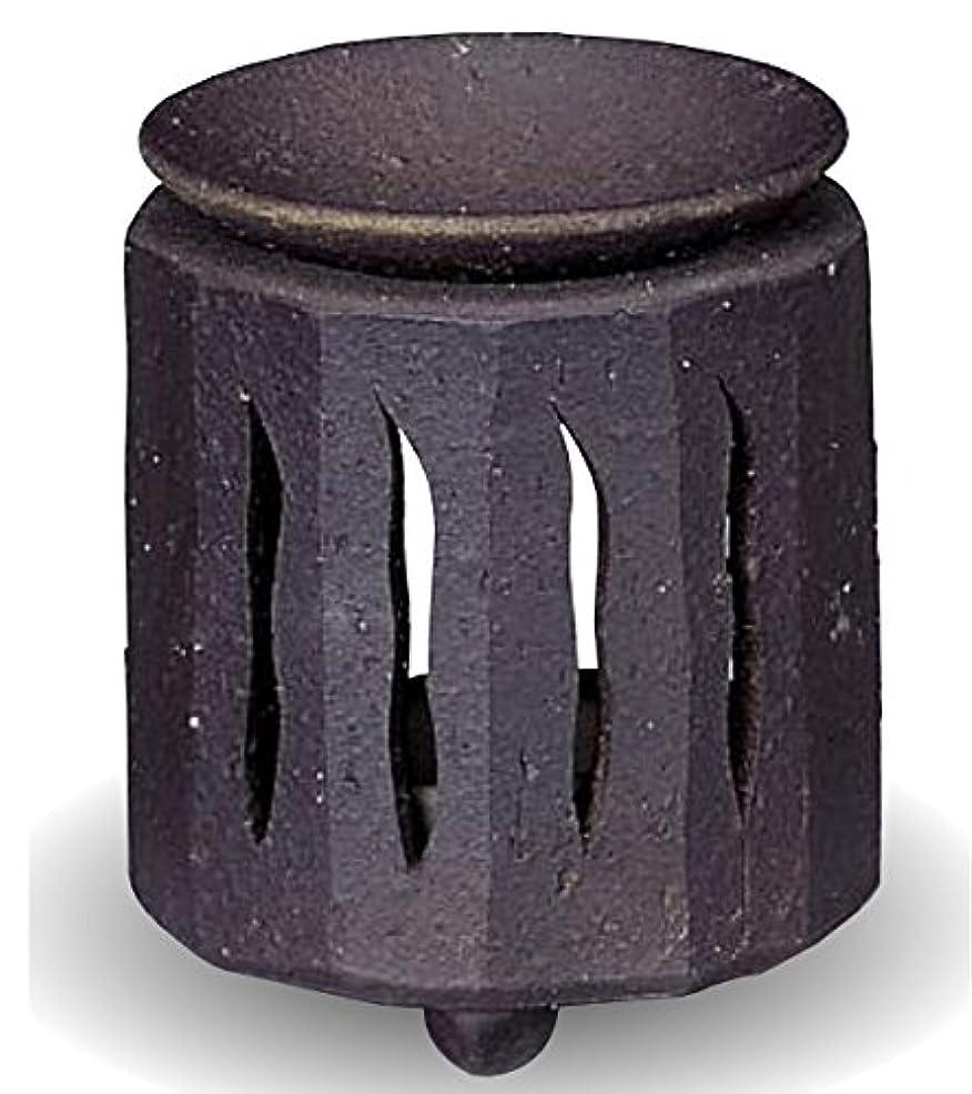シマウマ流鼻常滑焼 茶香炉(アロマポット)径9×高さ11cm