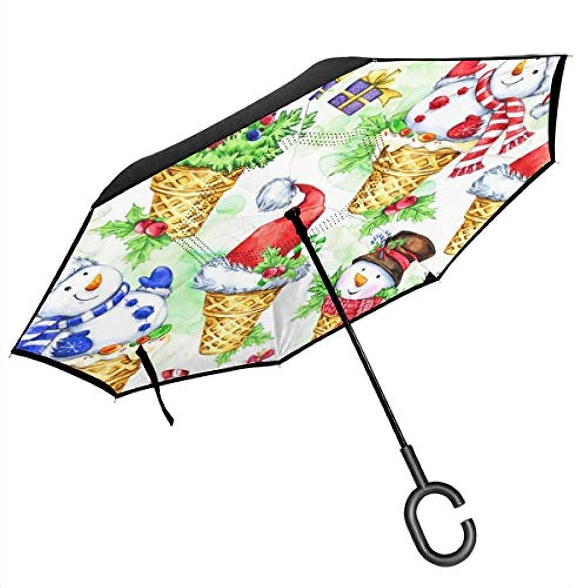 あえぎ金額ホイップ逆さ傘 逆折り式傘 車用傘 耐風 撥水 遮光遮熱 大きい 手離れC型手元 梅雨 紫外線対策 晴雨兼用 ビジネス用 車用 UVカット
