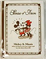 ディズニー ブック型 箱入り メモ ミッキー&ミニー