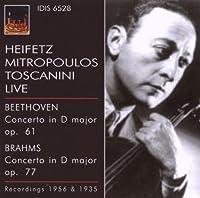 Violin Con by BEETHOVEN LUDWIG VAN / BRAHMS