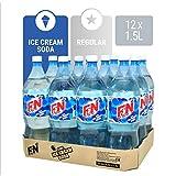 F&N Sparkling Flavoured Drink Ice Cream Soda, 12x1.5L