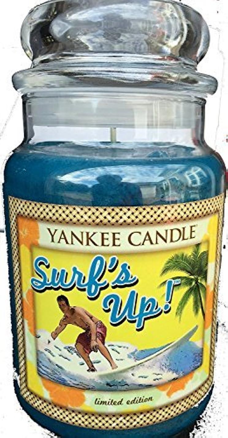 顧問メールを書く天気Yankee Candle Large 22-oz. Jar Candle Surf's Up [並行輸入品]