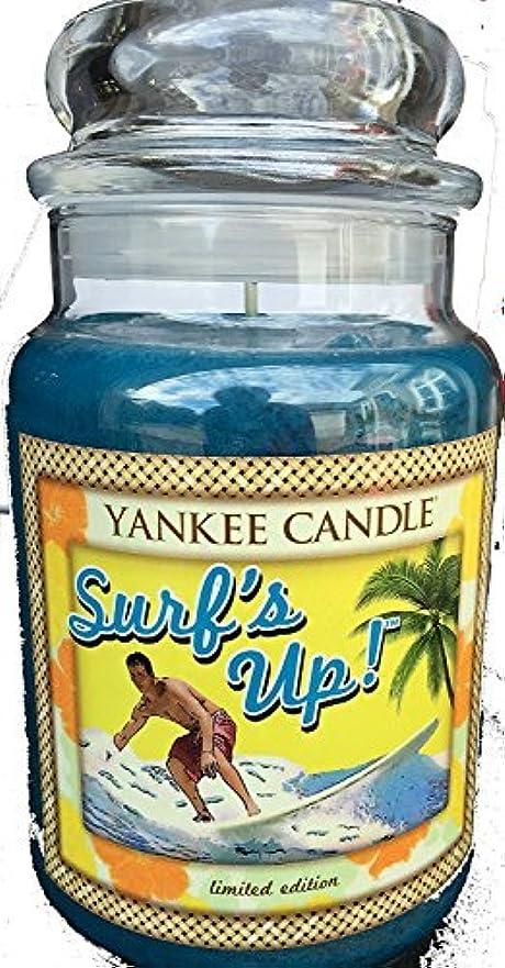 固執教科書飲料Yankee Candle Large 22-oz. Jar Candle Surf's Up [並行輸入品]