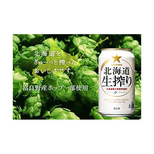 サッポロ北海道生搾りの紹介画像4