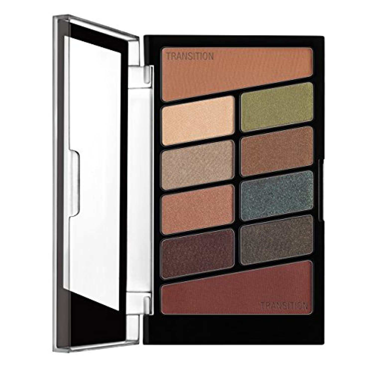 定説女王小道WET N WILD Color Icon Eyeshadow 10 Pan Palette - Comfort Zone (並行輸入品)