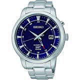 SEIKO (セイコー) 腕時計 海外モデル SUN031P1 GMT キネテック クォ-ツ メンズ[逆輸入品]