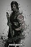 """Notebook: Archer Splatter Effect Artwork Inspired By Daryl Dixon , Journal for Writing, College Ruled Size 6"""" x 9"""", 110 Pages"""