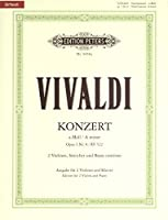 Vivaldi: Concerto in A minor Op.3/8 RV522 (Two Violins & Piano) Urtext