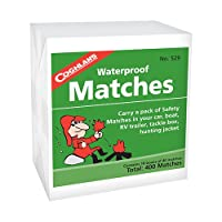 Waterproof Matches - 400 by Coghlans