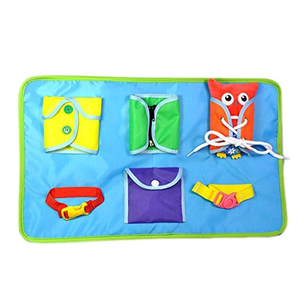 デジタル管理する非互換赤ちゃん 子供 スナップボタン バックル ジッパー 基本的 ライフスキル おもちゃ