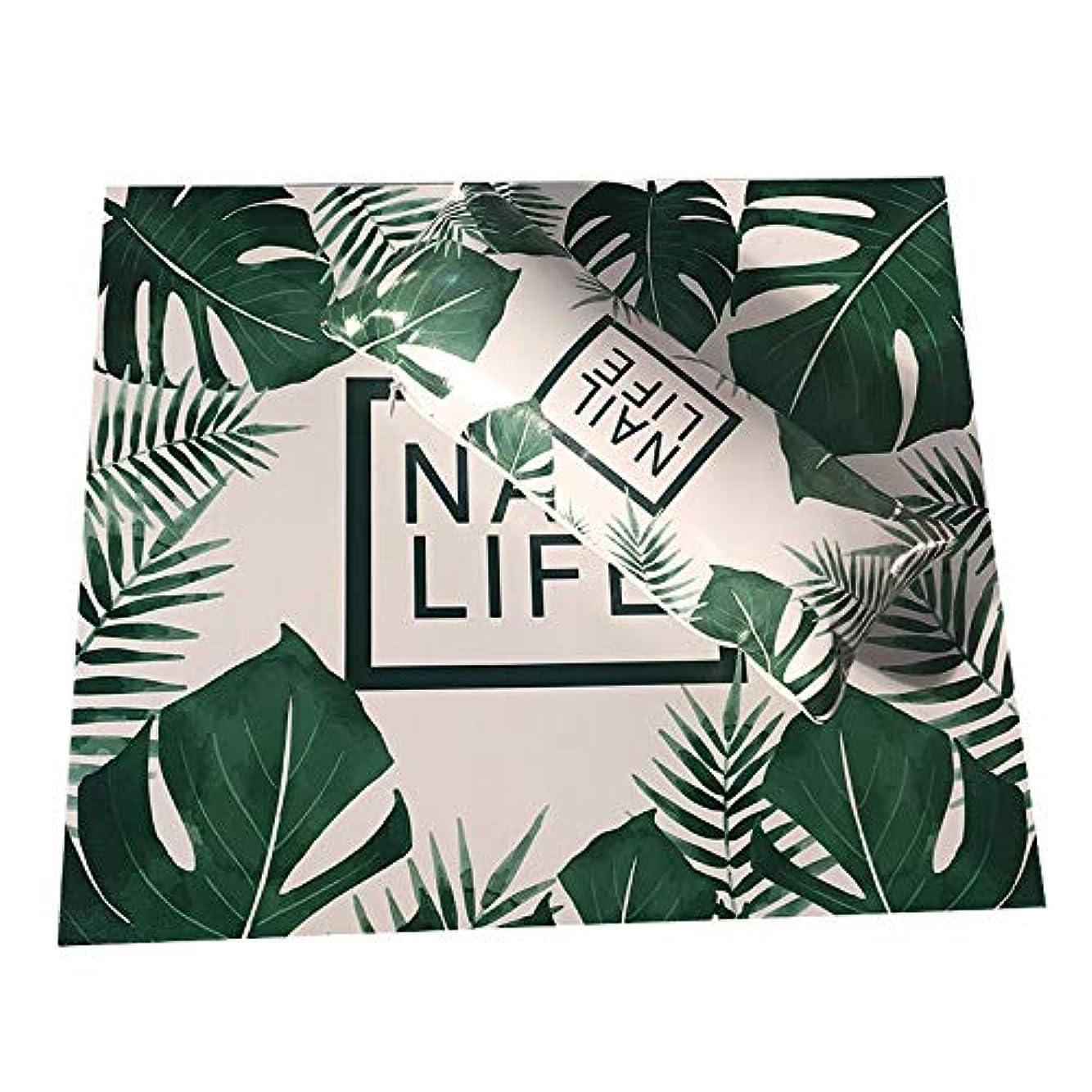 CUHAWUDBA ネイルアート用手枕のクッション、ネイルポリッシュのホルダー、ソフト、Puレザー、スポンジのアームレスト、ストライプのデザイン、サロンのマニキュア(植物#)