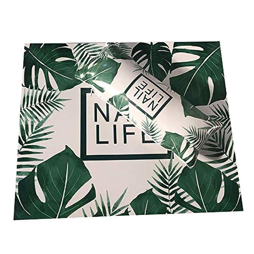 勤勉レイア番号TOOGOO ネイルアート用手枕のクッション、ネイルポリッシュのホルダー、ソフト、Puレザー、スポンジのアームレスト、ストライプのデザイン、サロンのマニキュア(植物#)