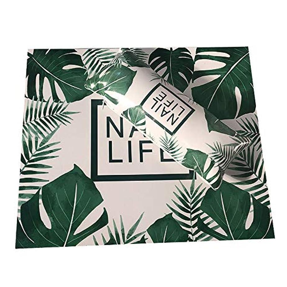 健康シーン前任者TOOGOO ネイルアート用手枕のクッション、ネイルポリッシュのホルダー、ソフト、Puレザー、スポンジのアームレスト、ストライプのデザイン、サロンのマニキュア(植物#)