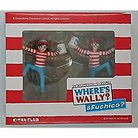 コップのフチ子とウォーリーを探せ 銀座松屋 誕生30周年記念ウォーリーを探せ!展 限定セット マグカップなし