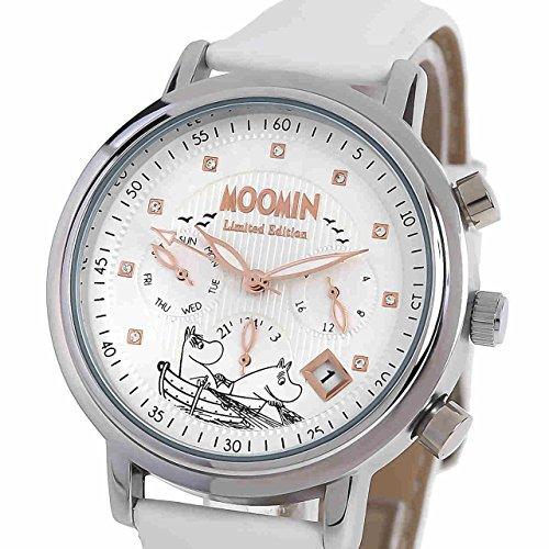 [ムーミン] Moomin レディース腕時計 ムーミンとフローレン MO-0006A